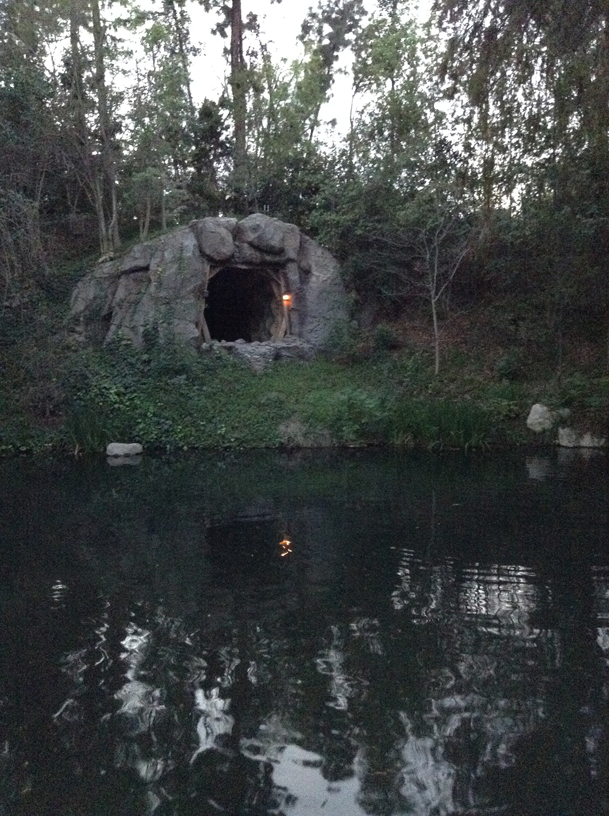 Disney trip for my 16th birthday, I was able to capture the beloved mine cave I was so in love with